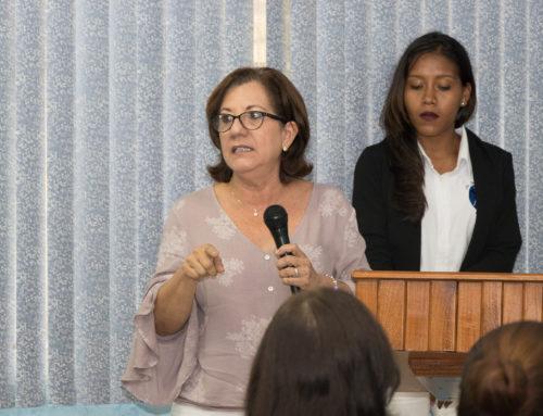 Conversatorio en el Centro Regional Universitario de Coclé.