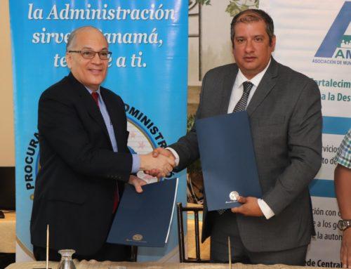 Firma de Importante Convenio con La Procuraduría de la Administración