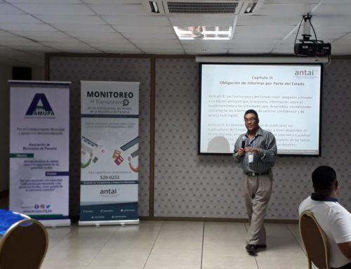 """""""Conversatorio sobre monitoreo de transparencia y sensibilización de datos abiertos de Panamá"""""""