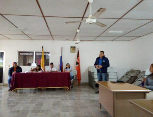 Amupa en Concejo Municipal Pocrí