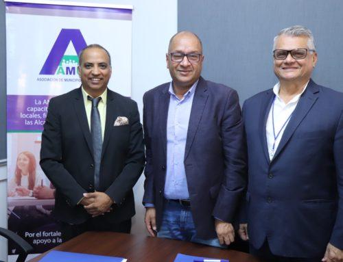 Firma de Convenio Marco de Cooperación entre la Asociación de Municipios de Panamá y el Instituto Centroamericano de Administración Pública (ICAP)