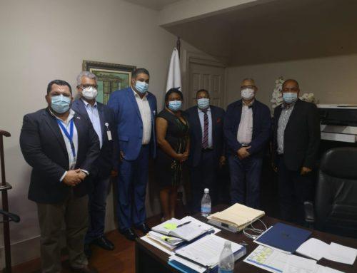 Encuentro en Presidencia sobre Difícil situación de los Municipios