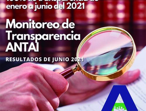 Municipios del país mantienen un 86% en Transparencia